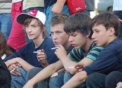 Табакокурение у Подростков